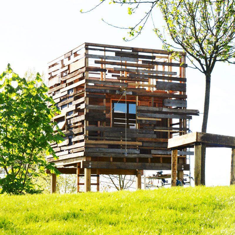 Boomhut door Hogerhuis